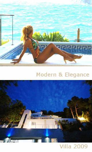 Puerto Andratx Mallorca moderne & elegante Villa Calle Congre Cala Llamp