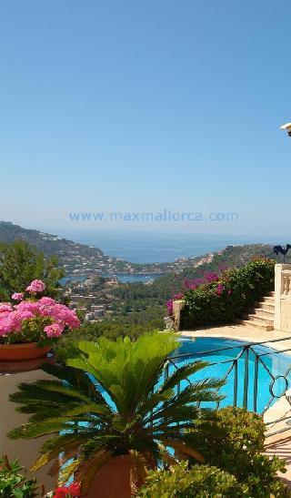 Mallorca Villa zu verfaufen Puerto Andratx Villa Montport Calle Velazquez