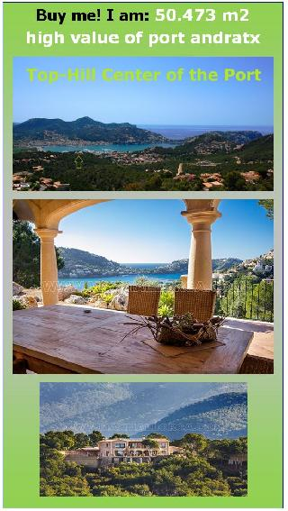 Puerto Andratx Klassische Naturstein-Finca Villa Residenz 50.473 m²