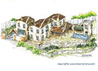 Finca Villa Port Andratx  Mallorca Residence