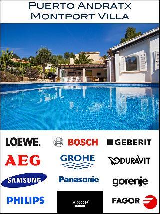 Villa Montport Hügellage Puerto Andratx Mallorca