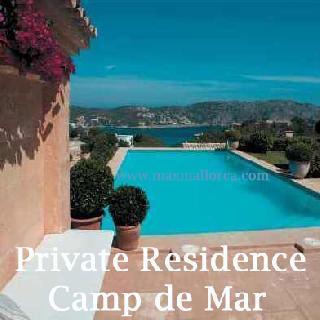 Camp de Mar Naturstein-Finca-Villa Blue Bay