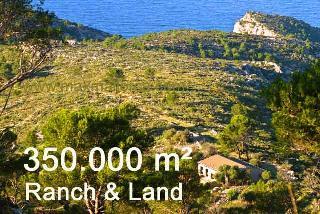 Pferde-Ranch mit 340.000 m² Landbesitz