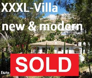Verkauft ! XXXL-Villa 377 m2  Traum in weiß ! Neu & Modern Luft-Wärmepumpe Heizung