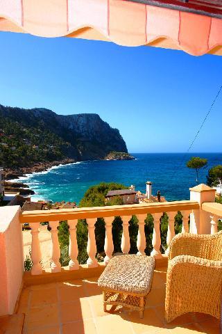 Frei ab 3 - 2019!  Meerblick Wohnung zu vermieten Puerto de Andratx am Gran Folies Beach  Mallorca