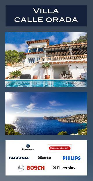 Exquisite Mallorca Villa in  Puerto de Andratx Cala Llamp erhabener Meerblick