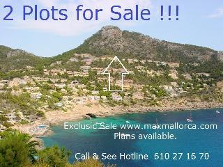 Mallorca Baugrundstück Puerto Andratx Cala LLamp oberste Baureihe an der Grünzone