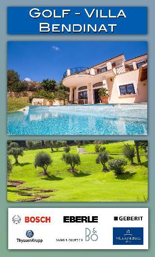 Golf Bendinat Villa mit bis zu 9 Schlafzimmern und Fairway Living am Golf Bendinat