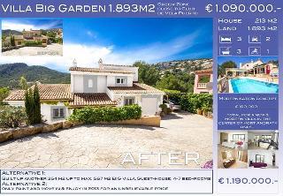 Villa Puerto Andratx Montport 1 for Sale: Villa direkt an der Grünzone nahe Yacht-Club de Vela