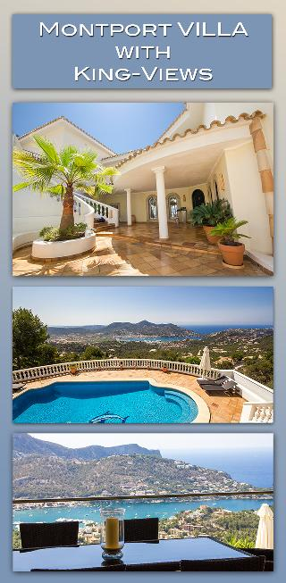 Villa Montport Puerto Andratx Mallorca mit grossem Pool und unglaublichem Blick