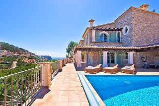 Hafenblick Villa Mallorca Puerto Andratx Cala Moragues
