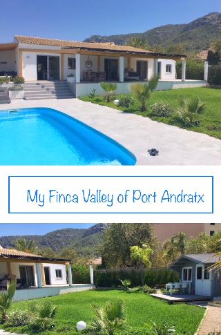 High-Tec Finca Villa modern & neu saniert in 2018 im Tal von Andratx