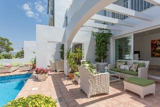 Doppelhaus mit Sonnenuntergang Meerblick & schönem Garten Port Andratx La Mola
