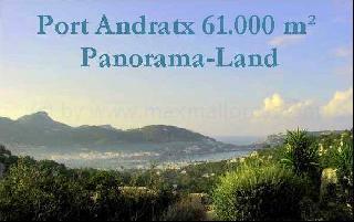 Port Andratx Ortsrand 61.000 m² mit Bauschein!!!