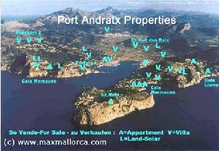 Port Andratx Baugrund 2.760 m² für Luxusvilla!